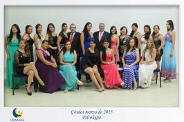 Grados marzo 2015